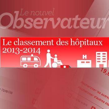 Le Classement Hôpitaux Nouvelobs 2014
